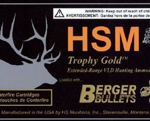 HSM Trophy Gold Centerfire Rifle Ammo - .243 Winchester - 95 Grain - 20 Rounds