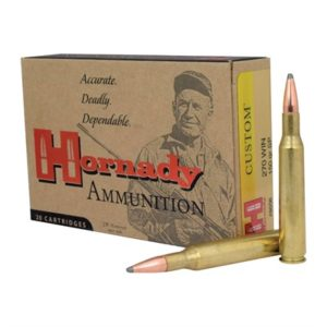 Hornady Custom 270 Winchester Soft Point Ammo - 270 Winchester 150gr Soft Point 20/Box