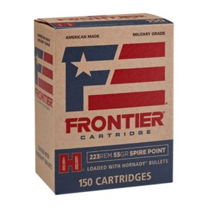 Hornady Frontier Ammo 223 Remington 55gr Spire Point - 223 Remington 55gr Spire Point 150/Box