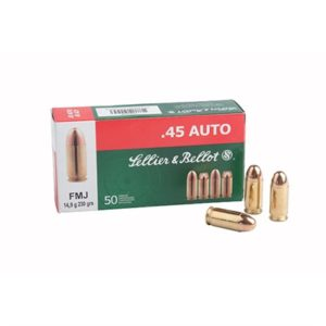 Sellier & Bellot 38 Special 158gr Fmj Ammo - 38 Special 158gr Full Metal Jacket 50/Box