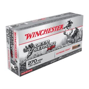 Winchester Deer Season Xp 270 Winchester Short Magnum (Wsm) Ammo - 270 Wsm 130gr Extreme Point Polymer Tip 20/Box