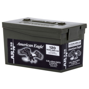 American Eagle AR-5.56 M193 Rifle Ammo Mini Can, 55-gr, FMJ