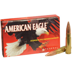 American Eagle Rifle Ammunition, .300 AAC Blackout, 150-gr, FMJ Boat-Tail