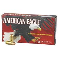 Federal American Eagle, .40 S&W, FMJFP, 180 Grain, 50 Rounds