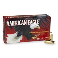 Federal American Eagle, 9mm, FMJ, 115 Grain, 50 Rounds