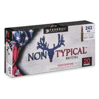 Federal Non-Typical, .243 Winchester, SP, 100 Grain, 20 Rounds