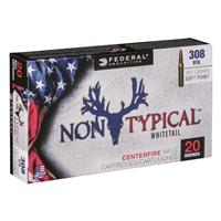 Federal, Non-Typical Whitetail, .308 Winchester, SP, 180 Grain, 20 Rounds