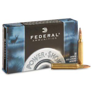 Federal Power-Shok Rifle Ammo, .30-30 Win, 170-gr, SPRN