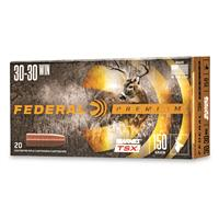 Federal Premium Barnes TSX, .30-30 Win., Triple-Shock X HP, 150 Grain, 20 Rounds