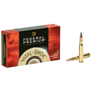 Federal Premium Vital-Shok Nosler Partition Rifle Ammo, 7mm-08 Rem, 140-gr.