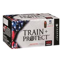 Federal Train + Protect, .40 S&W, VHP, 180 Grain, 100 Rounds
