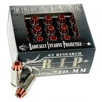 G2 Research RIP, 10mm, SCHP, 115 Grain, 20 Rounds