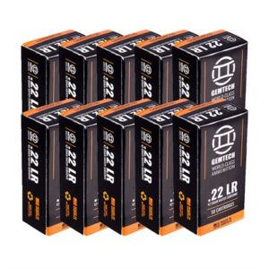 Gemtech Subsonic Ammo 22lr 42gr Lead Round Nose - 22 Long Rifle 42gr Subsonic Lead Round Nose 500/Brick