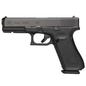 Glock 17 Gen5 Handgun, 17 Rd, Night Sights