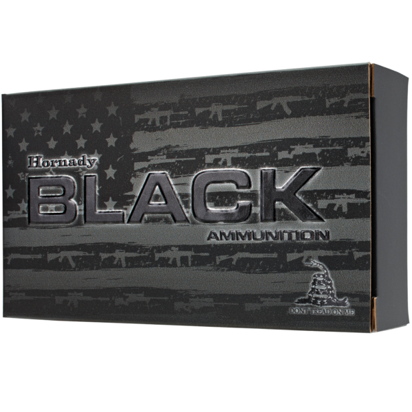 Hornady Black Rifle Ammunition, .300 AAC Blackout, 208-gr, A-Max