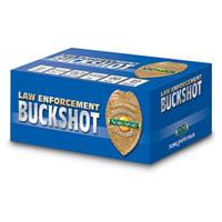 "Nobel Sport, 12 Gauge, 2 3/4"" Shell, No. 4 Buckshot, 27 Pellets, 10 Rounds"