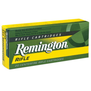 Remington High Performance Rifle Ammunition, .243 Win, 80-gr, PSP, 20 Rounds
