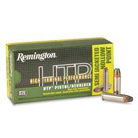 Remington High Terminal Performance, .38 Special+P, SJHP, 125 Grain, 50 Rounds