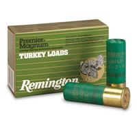 "Remington, Premier Turkey Loads, 12 Gauge, 3"" Shell, 2 ozs. Shot Weight, 10 Rounds"