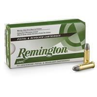 Remington UMC Handgun, .38 Special, LRN, 158 Grain, 50 Rounds