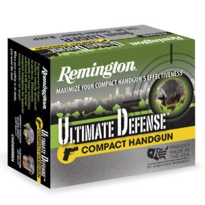Remington Ultimate Defense Ammo, .357 Mag, 125-gr, BJHP
