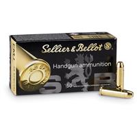Sellier & Bellot, .38 Special, FMJ, 158 Grain, 1,000 Rounds