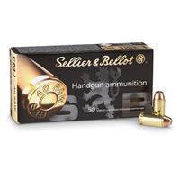 Sellier & Bellot, .40 S&W, FMJ, 180 Grain, 250 Rounds