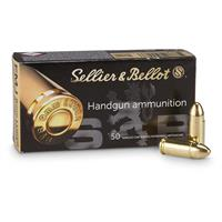 Sellier & Bellot, 9mm Luger, FMJ, 115 Grain, 500 Rounds