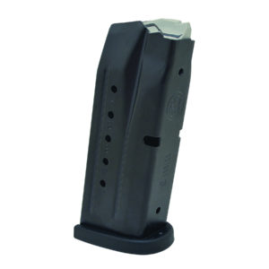 Smith & Wesson M & P Compact 9mm Replacement Magazine with Finger Rest, 12-Round
