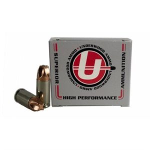 Underwood Ammo Xtreme Defender Ammo 9mm Luger +p 90gr Xtreme Defense - 9mm Luger +p 90gr Xtreme Defense 20/Box