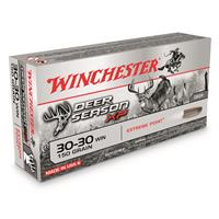 Winchester Deer Season XP, .30-30 Winchester, Polymer-Tipped Extreme Point, 150 Grain, 20 Rounds