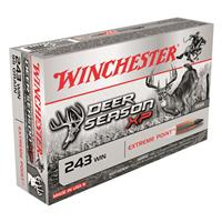 Winchester, Deer Season XP Copper Impact, .243 Win., Extreme Point Lead Free, 85 Grain, 20 Rounds