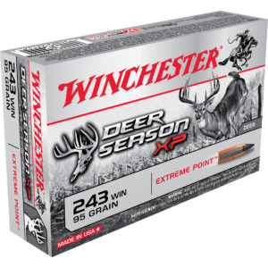 Winchester Deer Season XP Rifle Ammo, .243 Win, 95-gr, Extreme Point