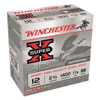 "Winchester Super-X Xpert High-Velocity Steel, 12 Gauge, 2 3/4"" Shot Shells, 1 1/8 oz., 250 Rounds"