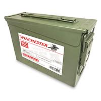 Winchester, USA, .40 S&W, FMJ, 165 Grain, 500 Rounds with Ammo Can