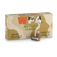 Wolf, .380 ACP, FMJ, 94 Grain, 500 Rounds