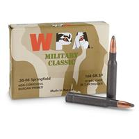 Wolf WPA Military Classic, .30-06, SP, 168 Grain, 100 Rounds