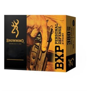 Browning Bxp Personal Defense 380 Auto 95gr X-Point - 380 Auto 95gr X-Point 20/Box