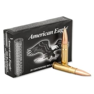 American Eagle 300 Aac Blackout 220gr Otm Subsonic Ammunition - 300 Aac Blackout 220gr Open Tip Match Subsonic 20/Box