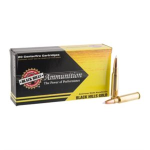 Black Hills Gold Ammo 308 Winchester 180gr Accubond - 308 Winchester 180gr Accubond 20/Box