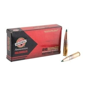 Black Hills Ammunition 300 Aac Blackout/Whisper 125gr Tipped Matchking Ammo - 300 Aac Blackout 125gr Tmk 20/Box