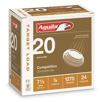 "Aguila Competition Target Loads, 20 Gauge, 2 3/4"", 7/8 oz. Shotshells, 25 Rounds"