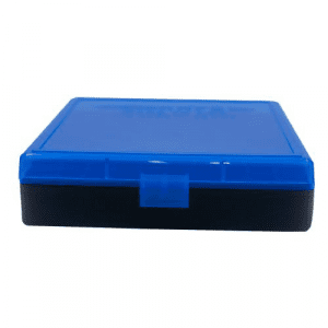 Berry's Ammo Box #008 - .40 S&W/.45 cal 100/rd Blue/Black