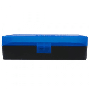 Berry's Ammo Box #408 - .40 S&W/.45 ACP 50/rd Blue/Black