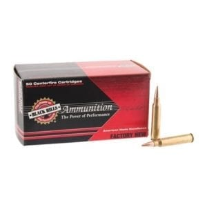 "Black Hills Ammunition 223 Remington 75gr Heavy Match Hollow Point Ammo - ""223 Remington 75gr Heavy Match Hp 1,000/Case"""