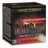 "Federal Premium Black Cloud FS Steel, 20 Gauge, 3"",1 oz., 250 Rounds"