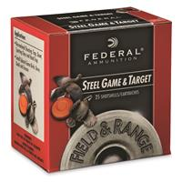 "Federal Premium Steel Game & Target, 20 Gauge, 2 3/4"", 3/4 oz., Shot Shells, 250 Rounds"