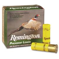 "Remington Pheasant Loads, 20 Gauge, 2-3/4"", 1 oz., 25 Rounds"