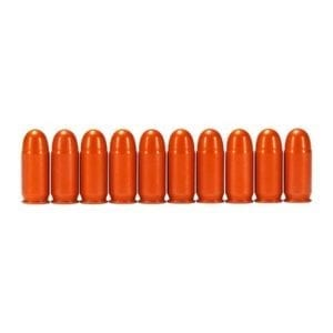 A-Zoom Ammo Snap Cap Dummy Rounds - 380 Auto Snap Caps 10/Pack