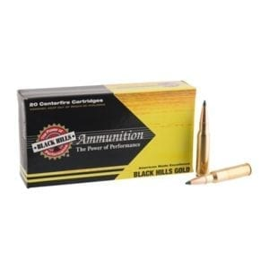 Black Hills Gold Ammo 308 Winchester 168gr Tipped Matchking - 308 Winchester 168gr Tmk 100/Case